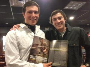Me with y collegiate hunting partner and one of my best friends, Austin Groff